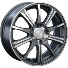 LS-Wheels 209 6,0х15 PCD:4x98  ET:32 DIA:58.6 цвет:GMF (темно-серый,полировка)