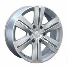 LS-Wheels 211 8,0х18 PCD:6x139,7  ET:20 DIA:106.1 цвет:SF (серебро,полировка)
