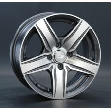 LS-Wheels 230 7,0х17 PCD:5x112  ET:45 DIA:57.1 цвет:GMF (темно-серый,полировка)