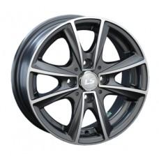LS-Wheels 231 6,0х14 PCD:4x100  ET:38 DIA:73.1 цвет:MBF (черный,полировка)