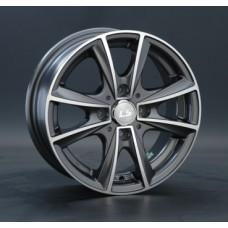 LS-Wheels 231 6,5х15 PCD:4x98  ET:32 DIA:58.6 цвет:GMF (темно-серый,полировка)
