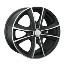 LS-Wheels 231 6,0х14 PCD:4x98  ET:35 DIA:58.6 цвет:BKF (черный)