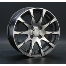 LS-Wheels 233 7,5х17 PCD:5x112  ET:40 DIA:73.1 цвет:GMF (темно-серый,полировка)