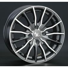 LS-Wheels 277 6,0х14 PCD:4x100  ET:40 DIA:73.1 цвет:GMF (темно-серый,полировка)