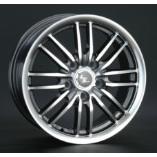 LS-Wheels 278 6,0х14 PCD:4x98  ET:35 DIA:58.6 цвет:GMF (темно-серый,полировка)