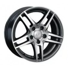 LS-Wheels 281 6,5х15 PCD:5x112  ET:45 DIA:57.1 цвет:BKF (черный)