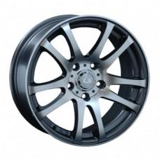 LS-Wheels 283 6,5х15 PCD:5x105  ET:39 DIA:56.6 цвет:GMF (темно-серый,полировка)