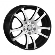 LS-Wheels 283 6,5х15 PCD:5x112  ET:40 DIA:57.1 цвет:BKF (черный)