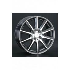 LS-Wheels 286 6,5х15 PCD:4x100  ET:40 DIA:73.1 цвет:BKF (черный)
