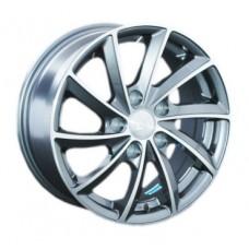 LS-Wheels 286 6,0х14 PCD:4x98  ET:35 DIA:58.6 цвет:SF (серебро,полировка)