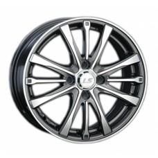 LS-Wheels 298 6,0х15 PCD:4x100  ET:45 DIA:73.1 цвет:GMF (темно-серый,полировка)
