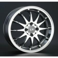 LS-Wheels 299 6,0х15 PCD:5x100  ET:40 DIA:57.1 цвет:GMF (темно-серый,полировка)
