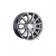 LS-Wheels 312 6,0х14 PCD:5x100  ET:35 DIA:57.1 цвет:GMF (темно-серый,полировка)