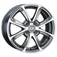 LS-Wheels 313 6,0х15 PCD:4x100  ET:43 DIA:60.1 цвет:GMF (темно-серый,полировка)