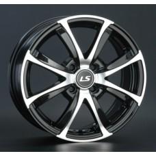 LS-Wheels 313 6,0х15 PCD:4x100  ET:45 DIA:73.1 цвет:BKF (черный)
