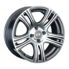 LS-Wheels 318 6,5х15 PCD:5x105  ET:39 DIA:56.6 цвет:GMF (темно-серый,полировка)
