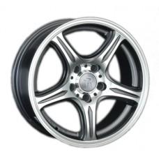 LS-Wheels 319 6,5х15 PCD:5x112  ET:45 DIA:57.1 цвет:GMF (темно-серый,полировка)