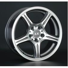 LS-Wheels 319 6,5х15 PCD:5x100  ET:38 DIA:57.1 цвет:BKF (черный)
