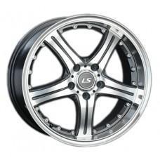 LS-Wheels 322 8,0х18 PCD:5x108  ET:45 DIA:63.4 цвет:GMF (темно-серый,полировка)