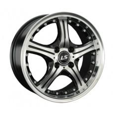 LS-Wheels 322 7,5х17 PCD:5x112  ET:45 DIA:57.1 цвет:BKF (черный)