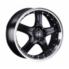 LS-Wheels 322 7,5х17 PCD:5x100  ET:35 DIA:73.1 цвет:BKL