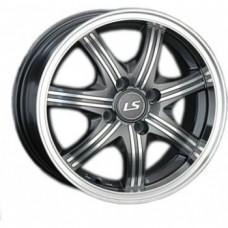 LS-Wheels 323 6,0х14 PCD:4x98  ET:35 DIA:58.6 цвет:GMF (темно-серый,полировка)