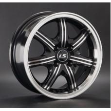 LS-Wheels 323 6,0х14 PCD:4x98  ET:35 DIA:58.6 цвет:BKF (черный)