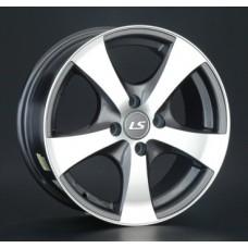 LS-Wheels 324 6,5х15 PCD:4x114,3  ET:40 DIA:73.1 цвет:GMF (темно-серый,полировка)