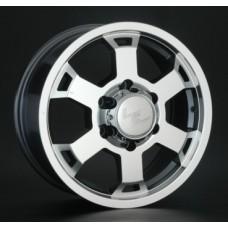 LS-Wheels 326 8,0х17 PCD:5x150  ET:60 DIA:110.1 цвет:GMF (темно-серый,полировка)