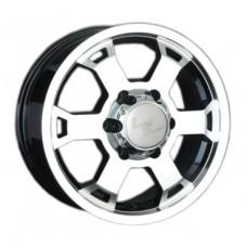 LS-Wheels 326 8,0х17 PCD:6x139,7  ET:46 DIA:67.1 цвет:BKF (черный)