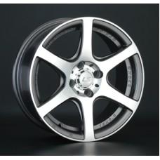 LS-Wheels 328 7,0х16 PCD:4x108  ET:27 DIA:65.1 цвет:GMF (темно-серый,полировка)