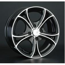 LS-Wheels 393 7,5х17 PCD:5x112  ET:45 DIA:57.1 цвет:BKF (черный)