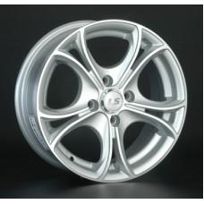 LS-Wheels 393 6,0х14 PCD:4x98  ET:35 DIA:58.6 цвет:SF (серебро,полировка)