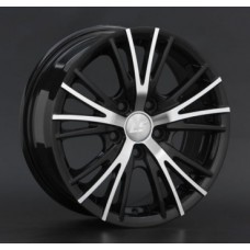 LS-Wheels BY701 6,5х15 PCD:4x114,3  ET:42 DIA:73.1 цвет:BKF (черный)