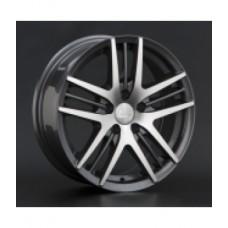 LS-Wheels BY708 6,5х15 PCD:5x108  ET:50 DIA:63.3 цвет:GMF (темно-серый,полировка)