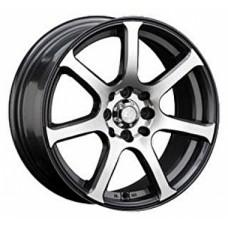 LS-Wheels BY804 7,0х16 PCD:4x100 4x114,3 ET:40 DIA:73.1 цвет:GMF (темно-серый,полировка)