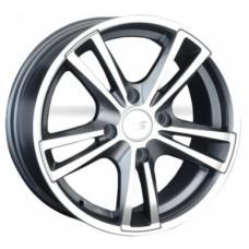LS-Wheels NG236 6,0х14 PCD:4x98  ET:35 DIA:58.6 цвет:GMF (темно-серый,полировка)
