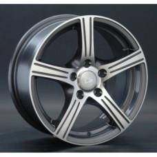 LS-Wheels NG238 6,5х15 PCD:5x108  ET:38 DIA:63.3 цвет:GMF (темно-серый,полировка)