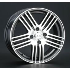 LS-Wheels NG278 6,0х15 PCD:4x98  ET:35 DIA:58.6 цвет:GMF (темно-серый,полировка)