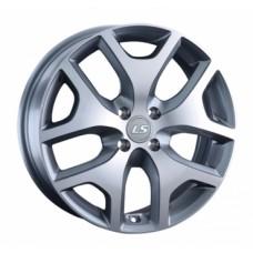 LS-Wheels 1008 6,5х17 PCD:4x100  ET:45 DIA:60.1 цвет:GMF (темно-серый,полировка)