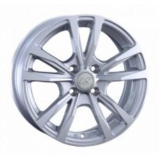 LS-Wheels 1010 6,5х15 PCD:4x100  ET:45 DIA:60.1 цвет:SF (серебро,полировка)