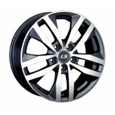 LS-Wheels 1034 6,5х16 PCD:5x112  ET:33 DIA:57.1 цвет:GMF (темно-серый,полировка)