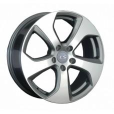 LS-Wheels 1036 6,5х16 PCD:5x112  ET:33 DIA:57.1 цвет:GMF (темно-серый,полировка)