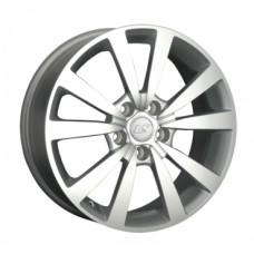 LS-Wheels 1038 6,5х16 PCD:5x112  ET:50 DIA:57.1 цвет:SF (серебро,полировка)