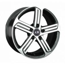 LS-Wheels 1041 6,5х16 PCD:5x112  ET:33 DIA:57.1 цвет:BKF (черный)