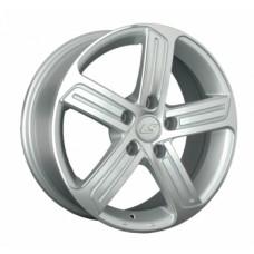 LS-Wheels 1041 6,5х16 PCD:5x112  ET:42 DIA:57.1 цвет:SF (серебро,полировка)