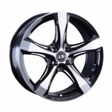 LS-Wheels 1053 7,5х17 PCD:5x114,3  ET:45 DIA:67.1 цвет:BKF (черный)