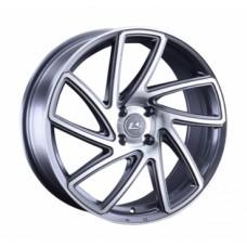 LS-Wheels 1054 6,5х15 PCD:4x100  ET:45 DIA:60.1 цвет:GMF (темно-серый,полировка)