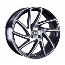 LS-Wheels 1054 7,5х17 PCD:4x100  ET:40 DIA:60.1 цвет:BKF (черный)
