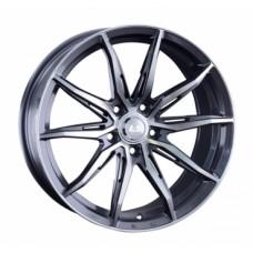 LS-Wheels 1055 7,0х16 PCD:4x108  ET:37,5 DIA:63.3 цвет:GMF (темно-серый,полировка)